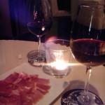 ワインと生ハム