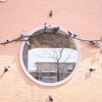 ロートアイアンの窓格子
