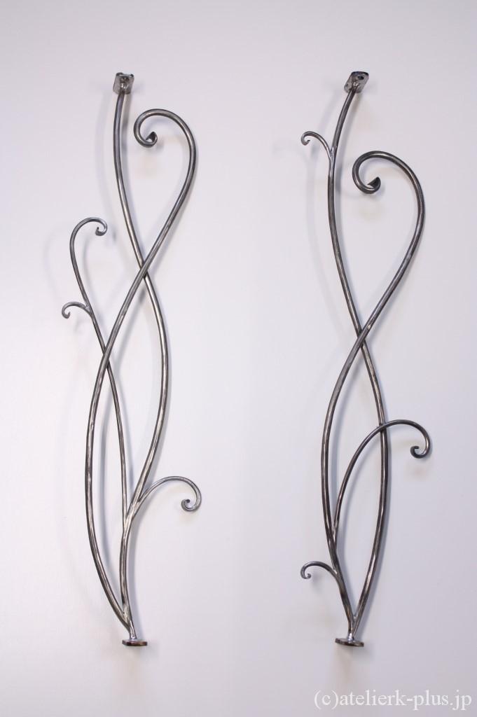 ロートアイアンの開口部装飾