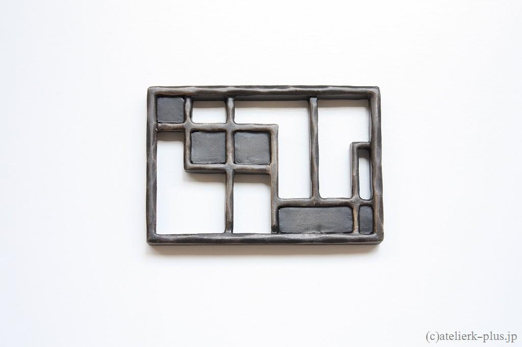 ロートアイアンの表札