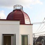 ロートアイアンのドーム装飾