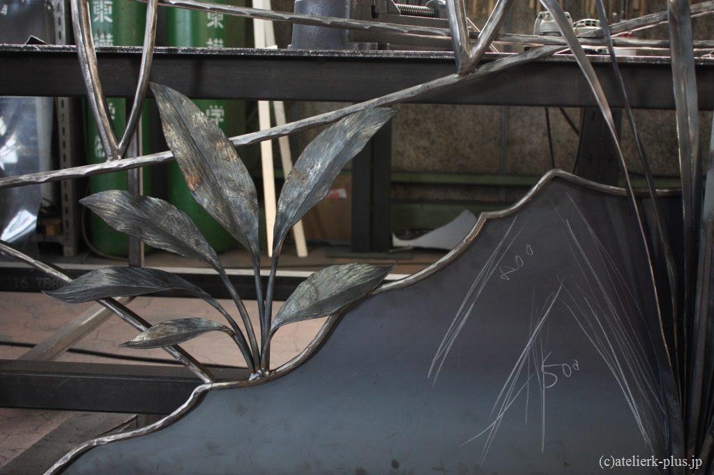 ロートアイアンのプルモナリア