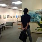 成澤洋さんの展示