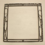 ロートアイアンの鏡