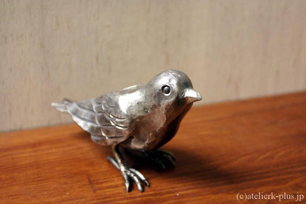 ロートアイアンの小鳥