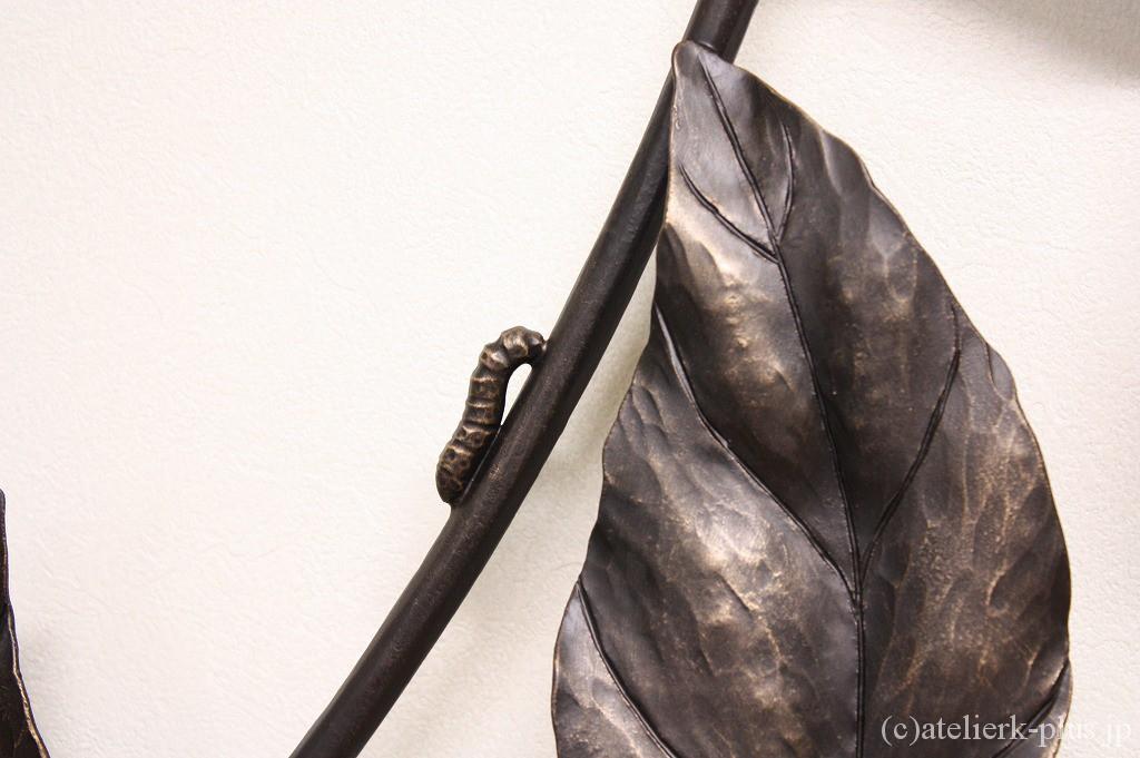 ロートアイアンの幼虫