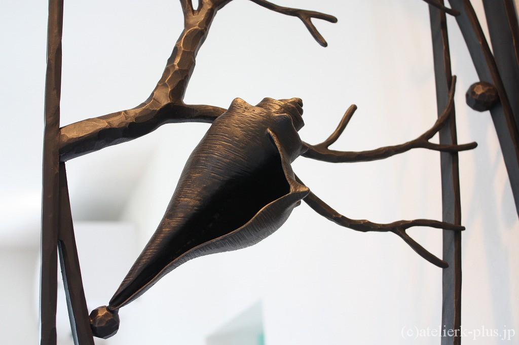 ロートアイアンの巻き貝