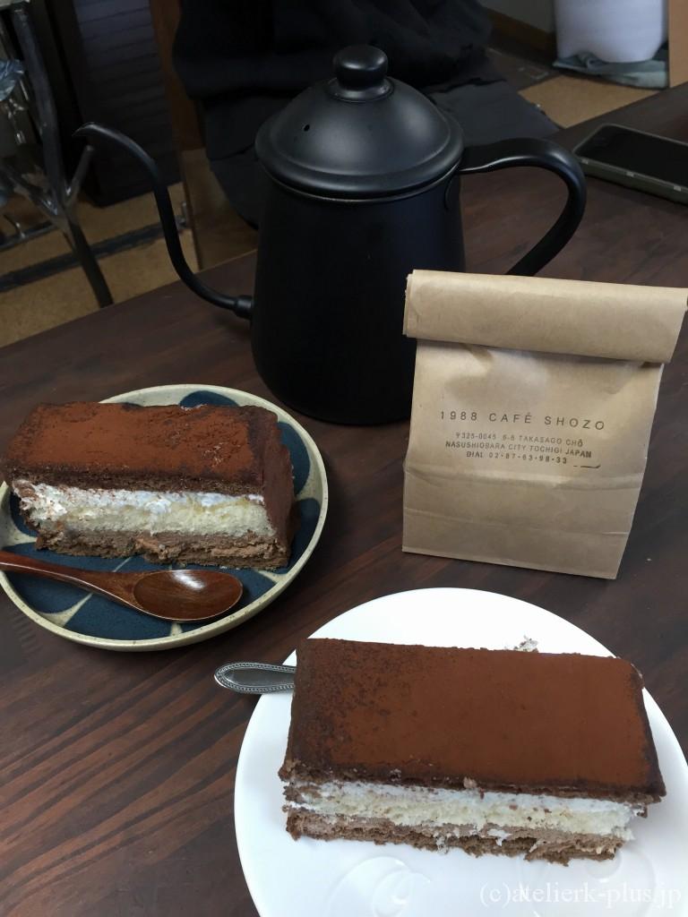 博多チョコレートショップのケーキ