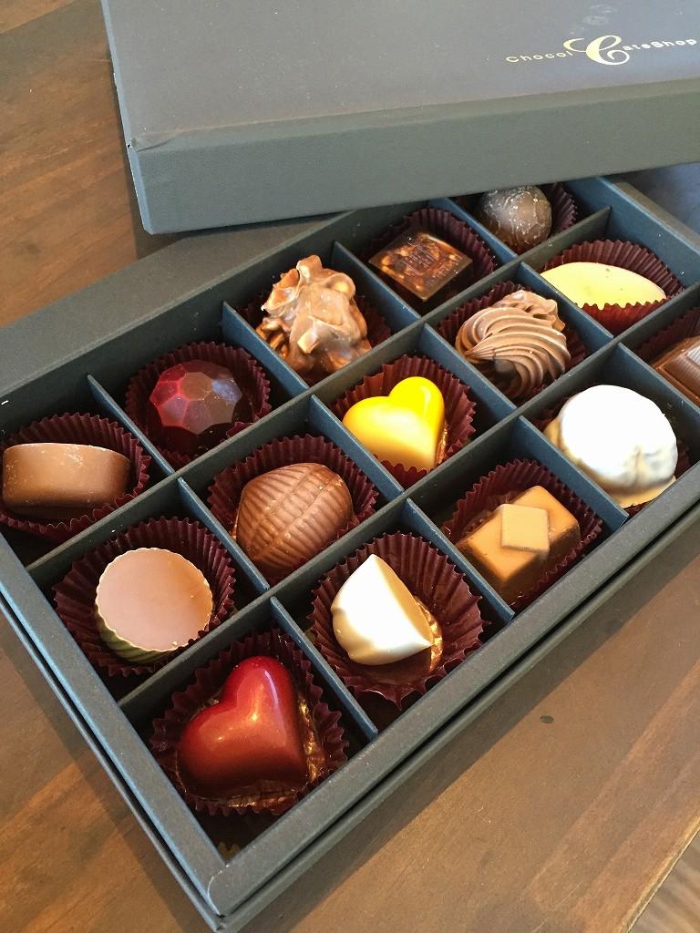 福岡チョコレートショップのチョコ
