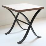 ロートアイアンのサイドテーブル