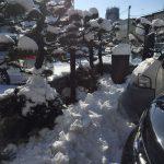 雪の日の工房
