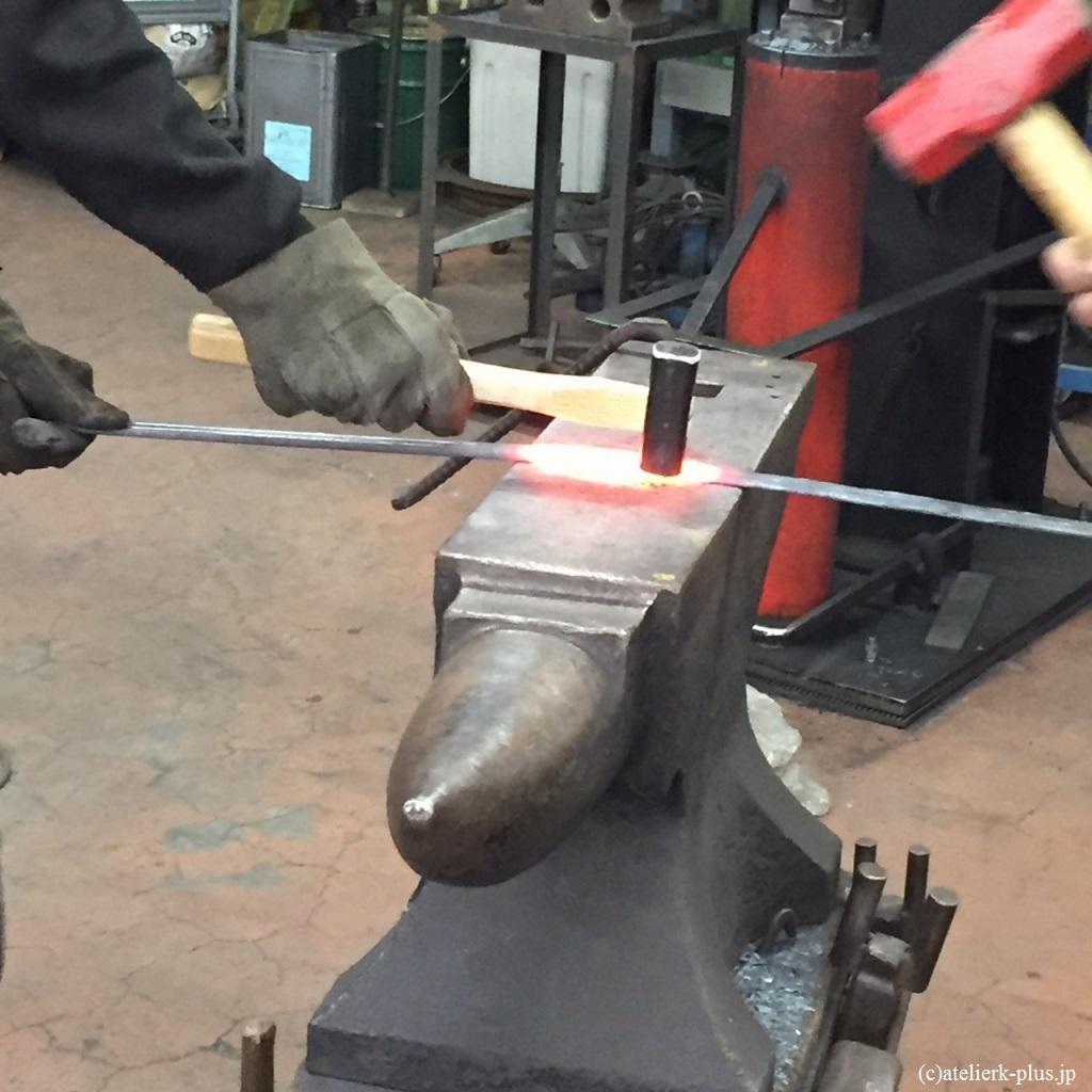 鍛鉄の技術