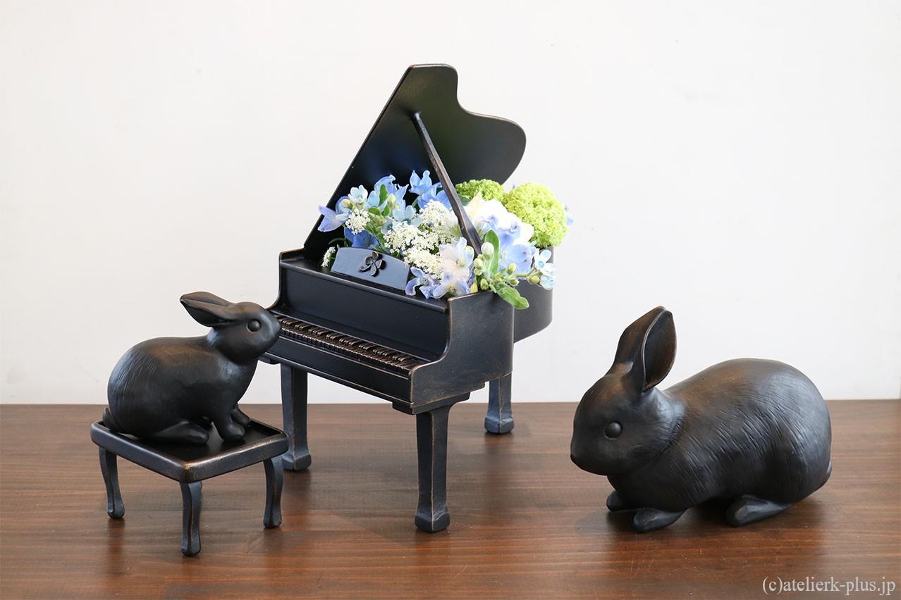 ロートアイアンの花器
