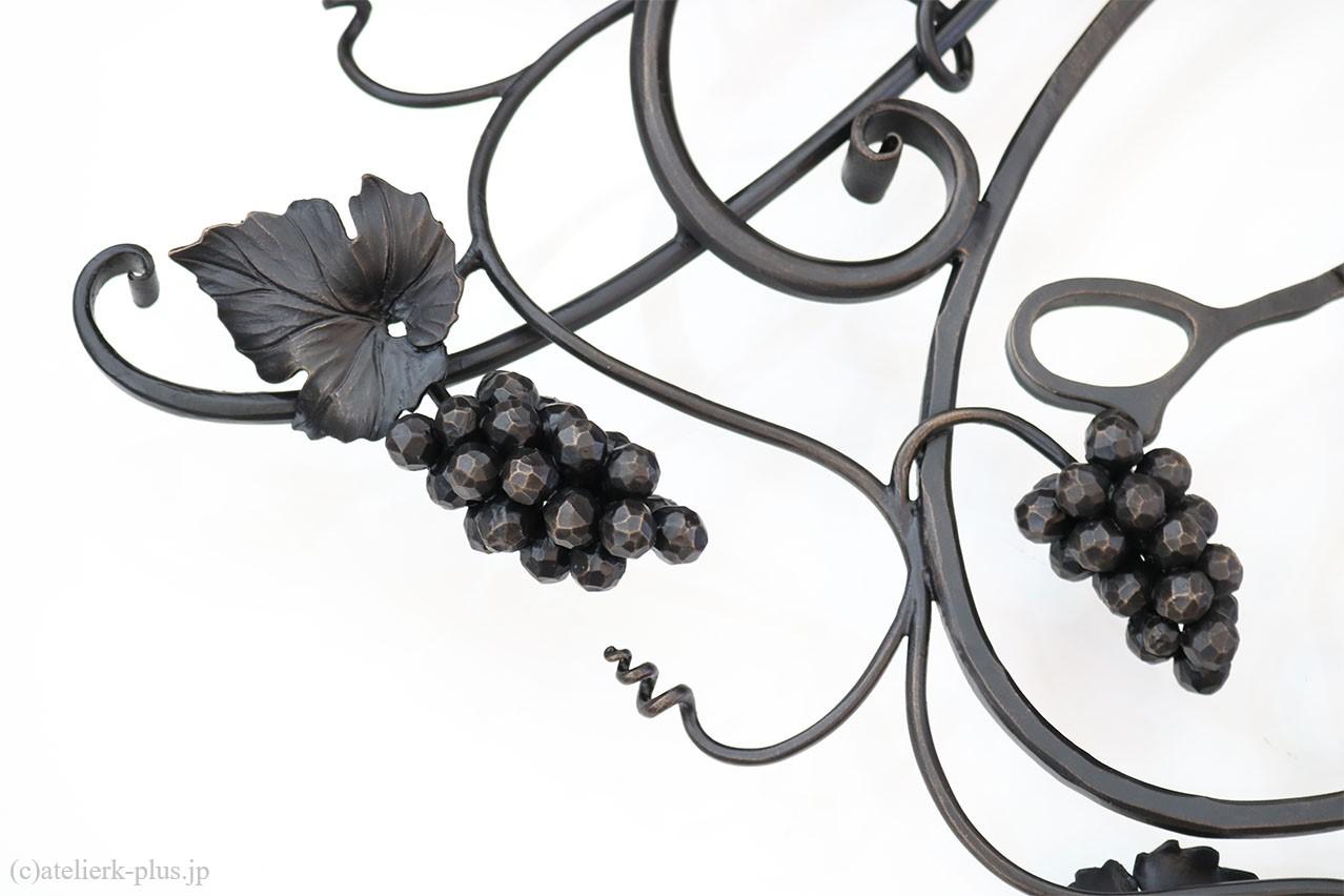 ロートアイアンの葡萄