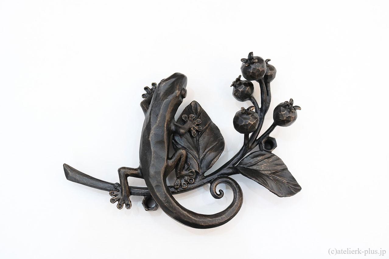 ロートアイアンのオブジェ装飾
